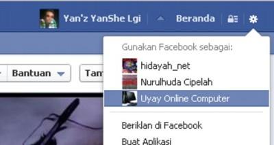 Cara menghapus halaman like facebook.